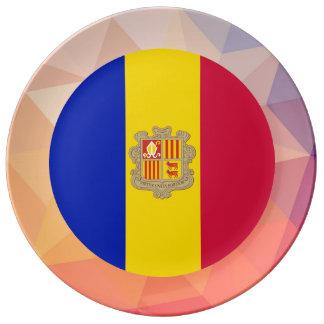 Andorra Souvenir Porcelain Plate