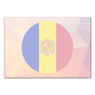 Andorra Souvenir Table Cards