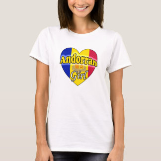 Andorran Girl T-Shirt