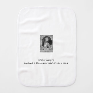 André Campra Burp Cloth