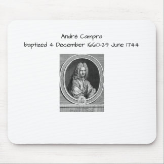 André Campra Mouse Pad