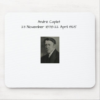 Andre Caplet Mouse Pad