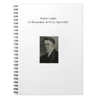 Andre Caplet Notebook