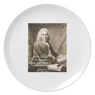 Andre Cardinal Destouches Plate