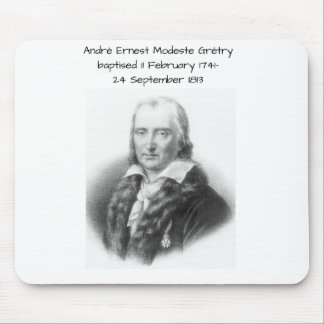 André Ernest Modeste Gretry Mouse Pad