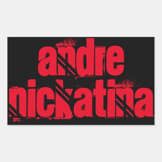 Andre Nickatina Sticker