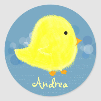 Andrea Baby Chick Sticker 369MyName