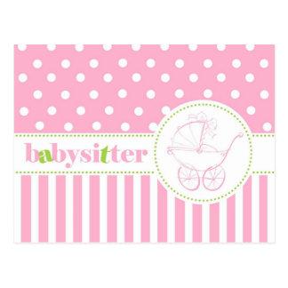Andrea Babysitter Postcard