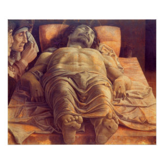 ANDREA MANTEGNA - Lamentation of Christ 1480 Poster