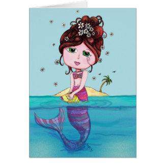 Andrea Mermaid Greeting Card