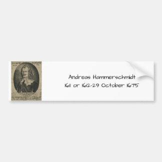 Andreas Hammerschmidt Bumper Sticker