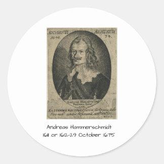 Andreas Hammerschmidt Classic Round Sticker