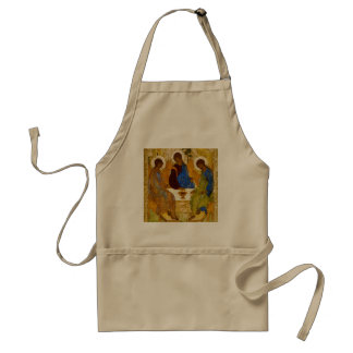 Andrei Rublev and icon of the Trinity Standard Apron