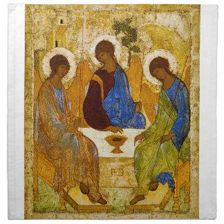 """Andrei Rublev, """"Holy Trinity"""" Napkin"""