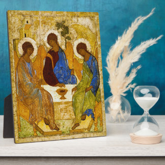 "Andrei Rublev, ""Holy Trinity"" Plaque"