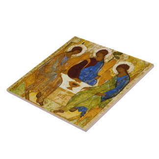 """Andrei Rublev, """"Holy Trinity"""" Tile"""