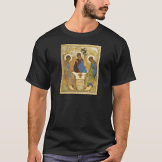 Andrei Rublev Iconic Trinity Angels Abraham Bible T-Shirt