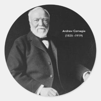 Andrew Carnegie Sticker