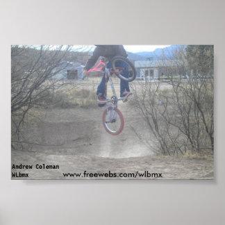 Andrew Coleman, Andrew ColemanWLbmx, www.freewe... Poster