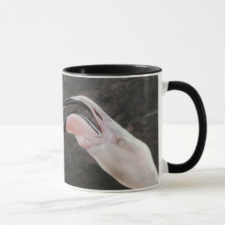 Andrew Denman Fighting Flamingo Mug