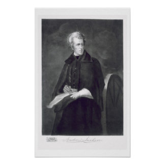 Andrew Jackson, 7th President of the United States Poster