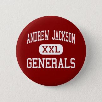 Andrew Jackson - Generals - Middle - Titusville 2 Inch Round Button