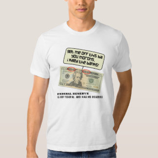 Andrew Jackson I killed the banks Tshirts