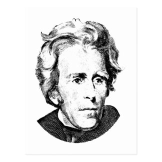 Andrew Jackson Post Card