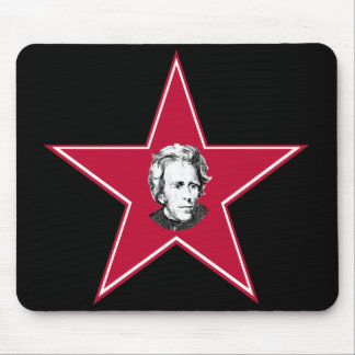 Andrew Jackson Star Mouse Pad