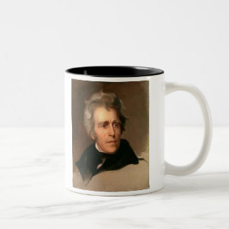 Andrew Jackson Two-Tone Coffee Mug