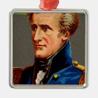 Andrew Jackson Vintage Metal Ornament