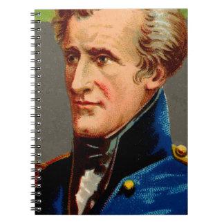 Andrew Jackson Vintage Spiral Notebook