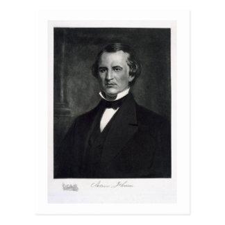 Andrew Johnson (1808-75), 17th President of the Un Postcard