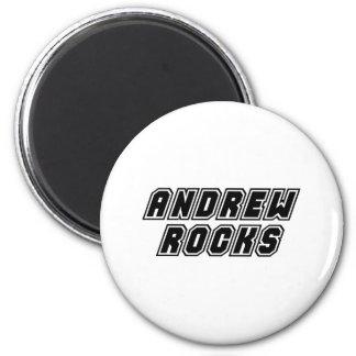 Andrew Rocks Magnet