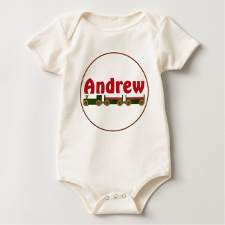 Andrew (train) baby bodysuit