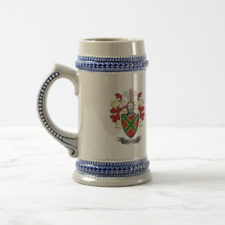 Andrews Family Crest Coat of Arms Beer Stein