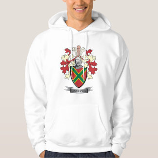 Andrews Family Crest Coat of Arms Hoodie