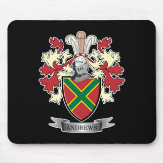 Andrews Family Crest Coat of Arms Mouse Pad