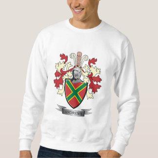 Andrews Family Crest Coat of Arms Sweatshirt