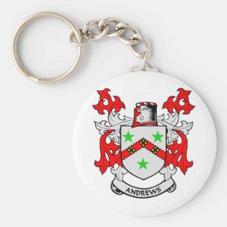 Andrews Family Crest Keychain