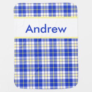 Andrew's Personalized Blanket Stroller Blankets