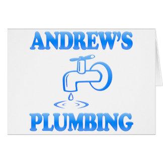 Andrew's Plumbing Card