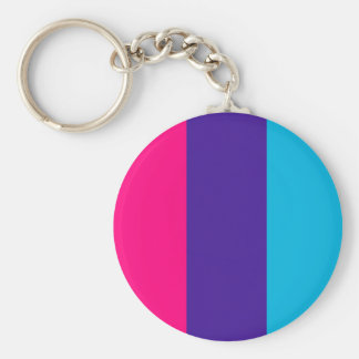 Androgyne pride flag keychain