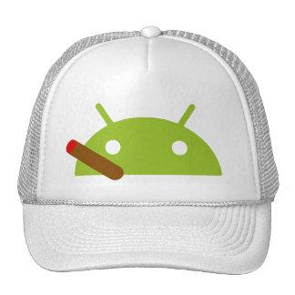Android Cigar Cap Trucker Hat