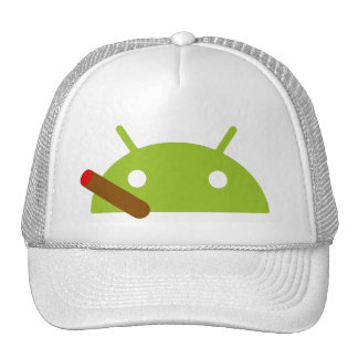 Android Cigar Cap Trucker Hat