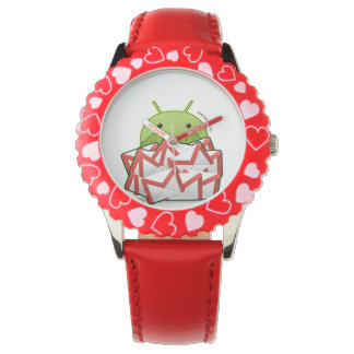 Android Clock Wrist Watch