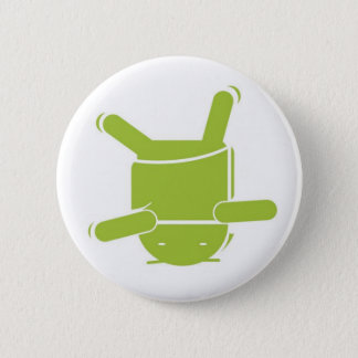 Android Dance 2 Inch Round Button