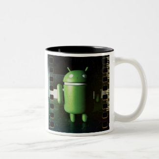 Android Distressed mug