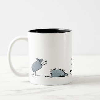 android dream Two-Tone coffee mug