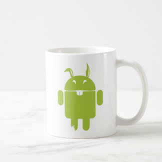 Android Easter bunny Coffee Mug